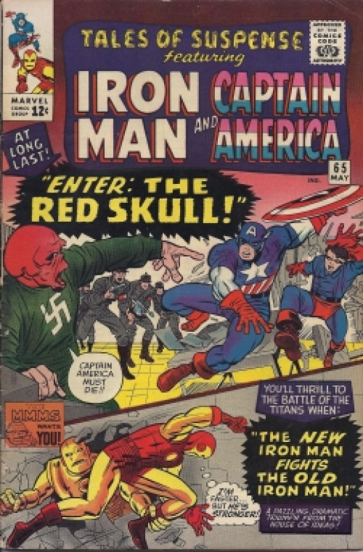 Captain America Red Skull