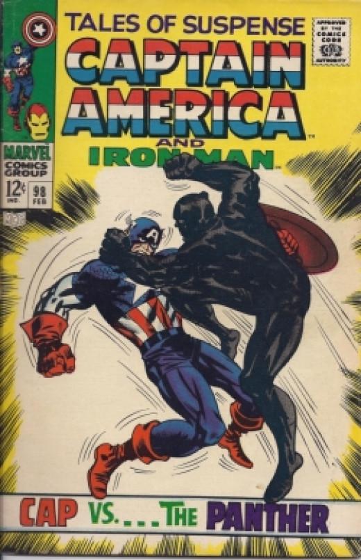 Captain America Black Panther