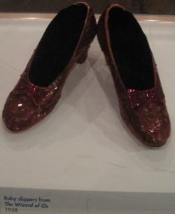 American History Museum Judy Garland Slippers