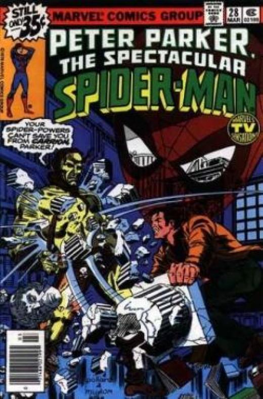 Peter Parker Spectacular Spider-Man No. 28