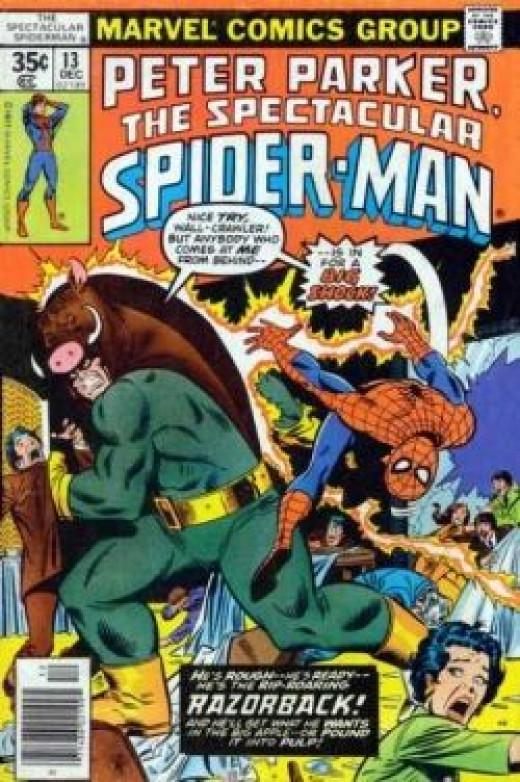 Peter Parker Spectacular Spider-Man No. 13