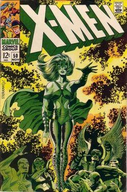 X-Men 50 Jim Steranko Polaris