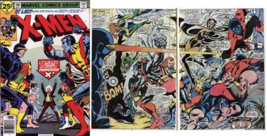 Old Vs. New X-Men X-Men 100
