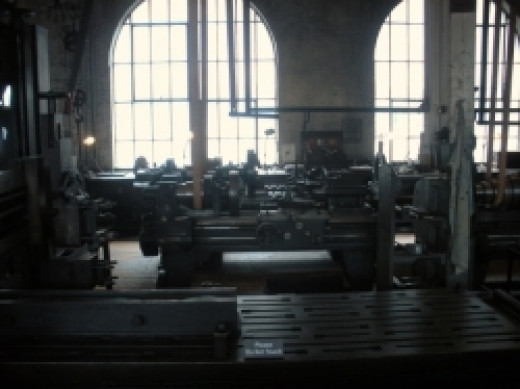 Thomas Edison National Park Machine Shop