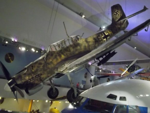Stuka Museum of Science and Industry Chicago