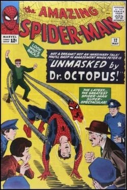 Amazing Spider-Man 12 Dr. Octopus Unmasks Spider-Man!