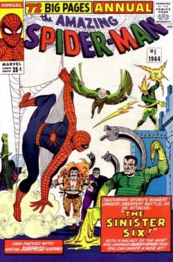 Amazing Spider-Man Annual No. 1 Sinister Six Dr. Octopus