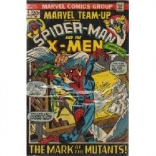 Marvel Team-Up 4 Spider-Man X-Men