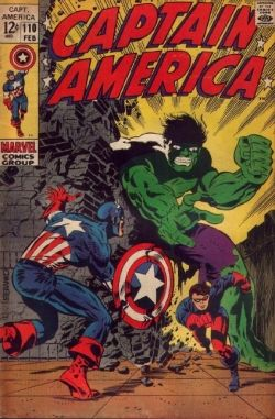 Captain America 110 Hulk