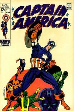 Captain America No. 111 Steranko