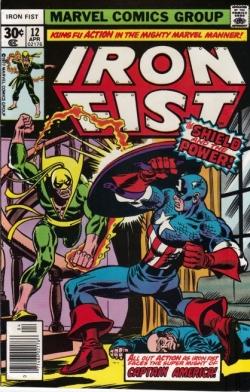 Iron Fist Captain America