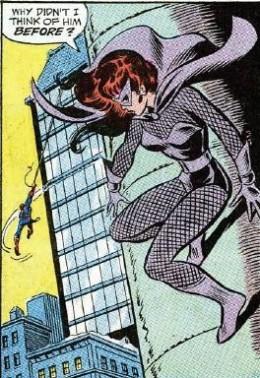Black Widow's Old Costume