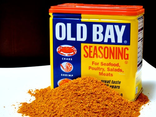 Old Bay Seasoning, a Maryland tradition.