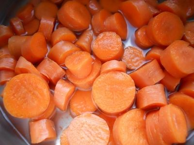 Nice Healthy Carrots Are The Main Ingredient Of This Soup