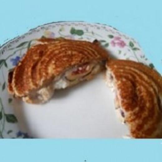 Boursin and Fig Pie Iron Pie