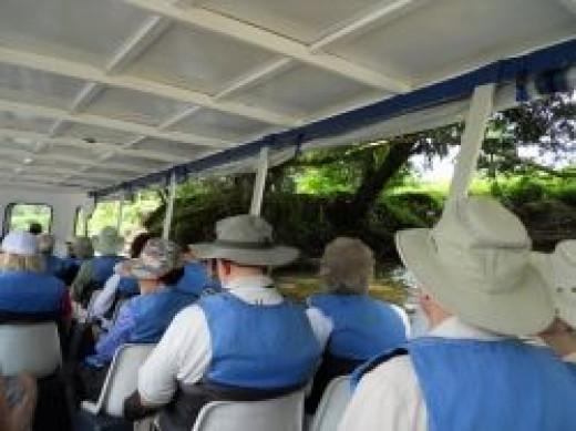 River Boat in Costa Rica