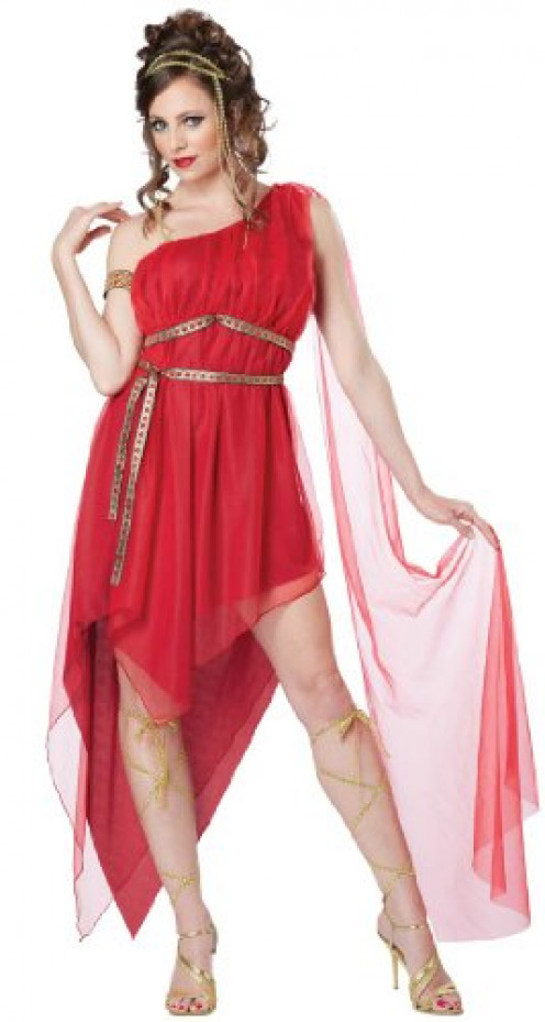 You can be any goddess you want with this Halloween Costume. You can be Aphrodite, Venus, etc or you can even create your own goddess if you want to.