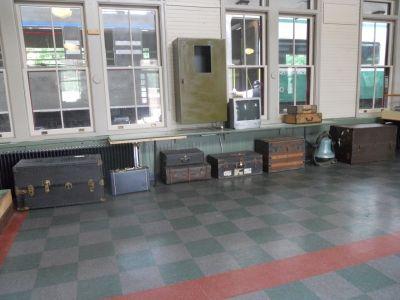 Saranac Lake Train Station Interior