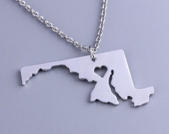 Maryland jewelry, necklace.