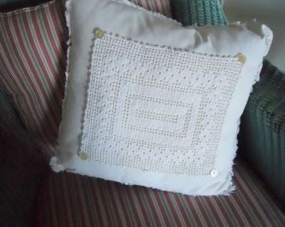 Napkin Throw Pillow