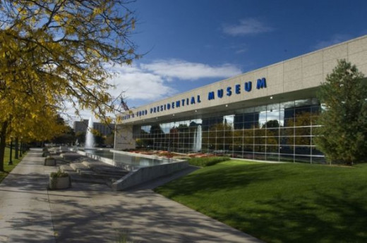 Gerald R. Ford Presidential Museum, photo by Museum Staff