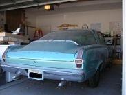 1966 Barracuda rear view