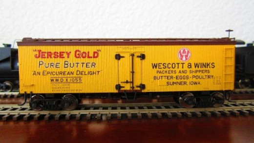 Jersey Gold HO Scale Reefer