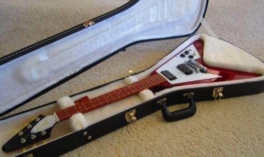 Flying V Guitar, take 2...