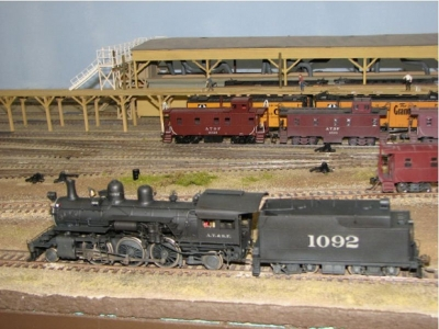 Santa Fe 2-6-2 Brass Locomotive (HO Scale)