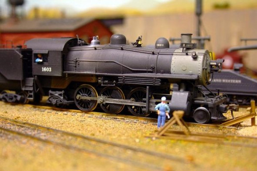 Building a model railroad with your son