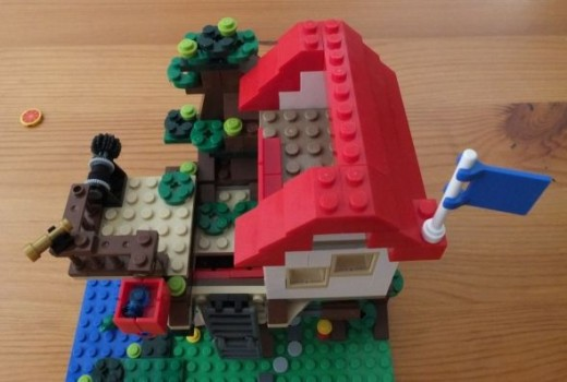 Lego Creator Treehouse top view