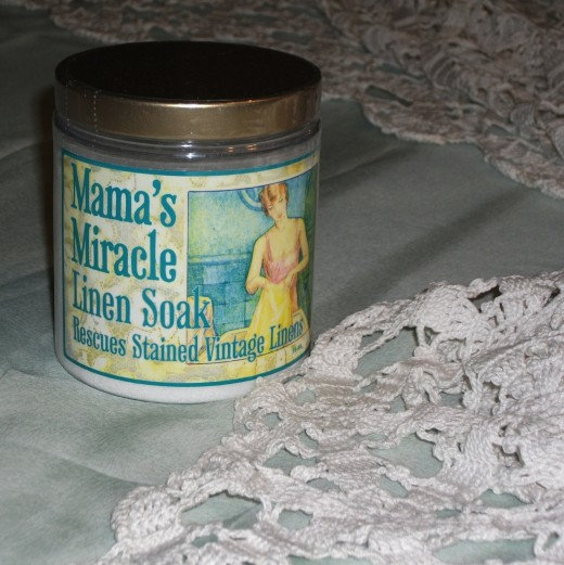 Mama's Miracle Linen Soak