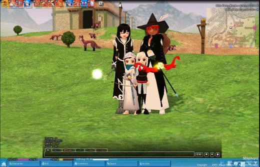 Mabinogi: a South Korean MMORPG
