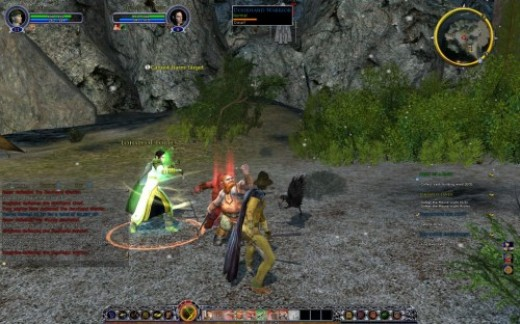 Lord of the Rings Online :  a sceenshot