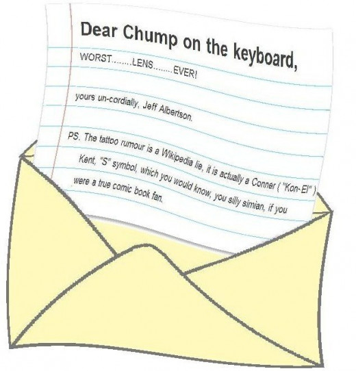 Found in the chimps letter box.