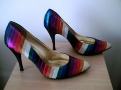 New Look - Rainbow high-heeled shoes