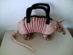 Armadillo Handbag by Accoutrements