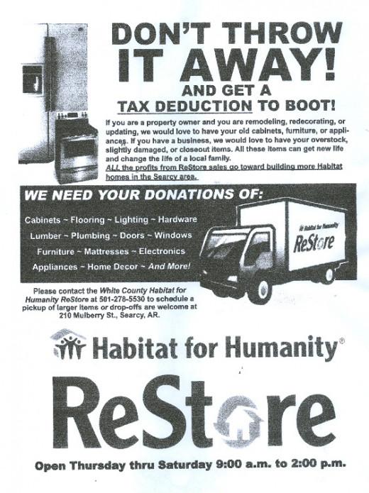 Habitat ReStore Searcy AK
