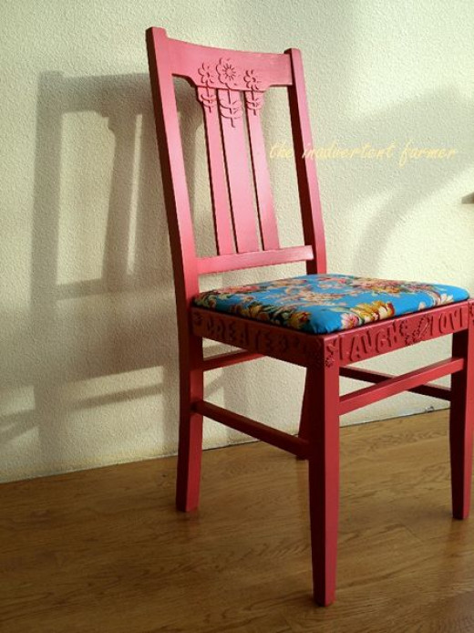 Used Chair Makeover - DIY Idea