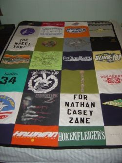 T-Shirt Quilt Sewing Project