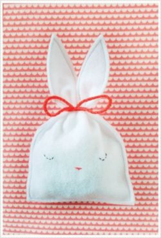 Make a Bunny Candy Bag for Easter