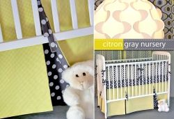 Crib Skirt - Things to Make for a Baby