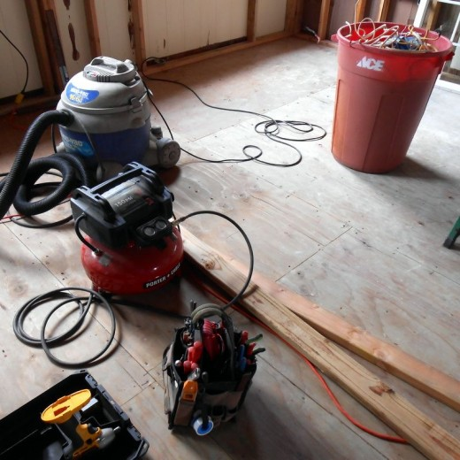 Tools for Remodeling a Home
