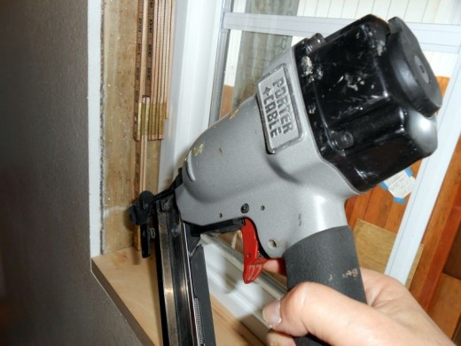Remodeling with a Finish Nail Gun