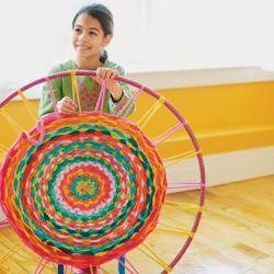 Good Tutorials for DIY Crafts Hula Hoop Rug