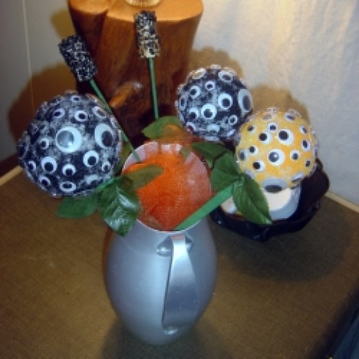 Halloween Eyeball Bouquet