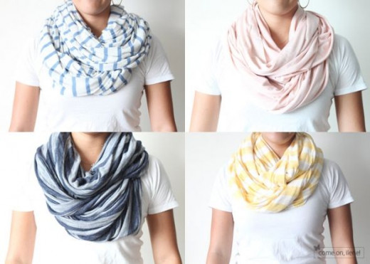 Simple Sewing - Infinity Scarf