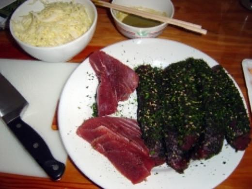 Ahi Tuna - Ready to Sear