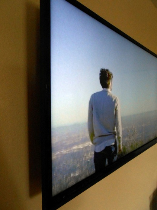 Hanging Flat Screen on Wall