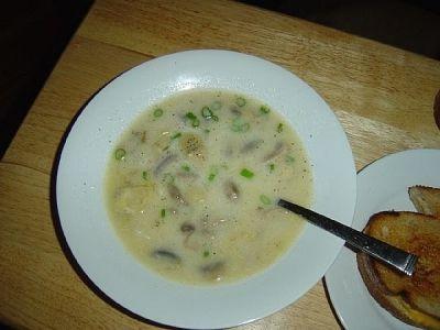 Homemade Mushroom Artichoke Soup Recipe